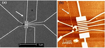 Au NanoParticle Lines Printed on a Microchip