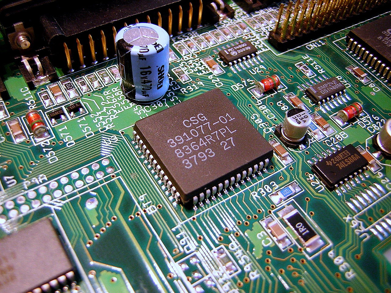 Amiga Custom Chip Paula 8364
